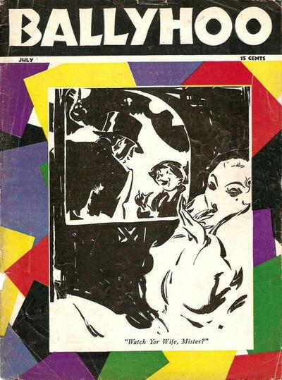 Cover for Ballyhoo (Dell, 1931 series) #v2#6