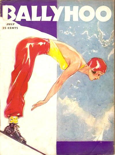 Cover for Ballyhoo (Dell, 1931 series) #v10#6