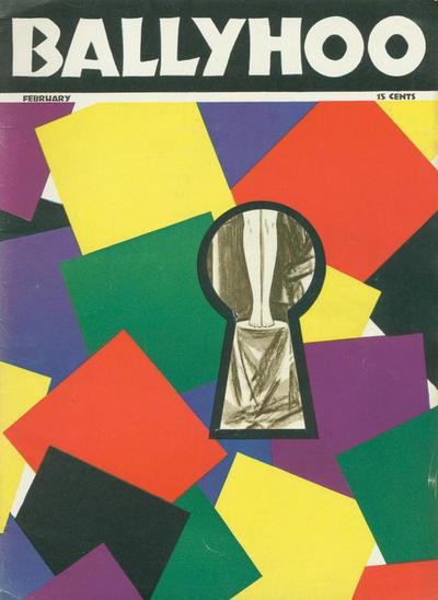 Cover for Ballyhoo (Dell, 1931 series) #v2#1