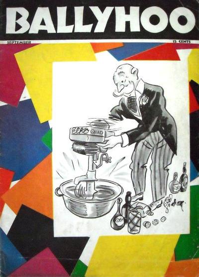 Cover for Ballyhoo (Dell, 1931 series) #v1#2