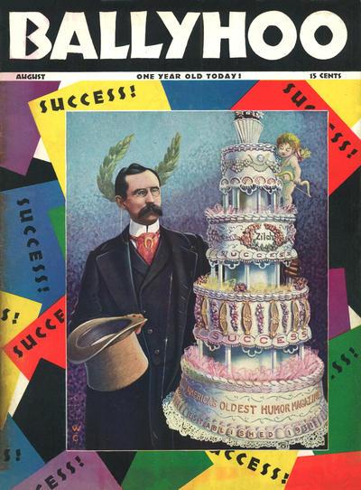 Cover for Ballyhoo (Dell, 1931 series) #v3#1