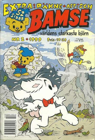 Cover for Bamse (Egmont, 1997 series) #2/1999