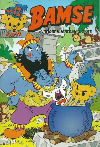 Cover for Bamse (Egmont, 1997 series) #12/2001