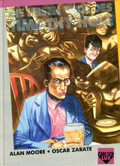 Cover for Carlsen Lux (Carlsen Comics [DE], 1990 series) #8 - Die leisen Tode des Timothy Hole