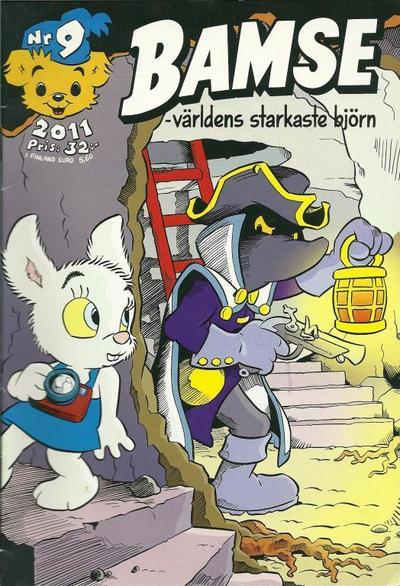 Cover for Bamse (Egmont, 1997 series) #9/2011