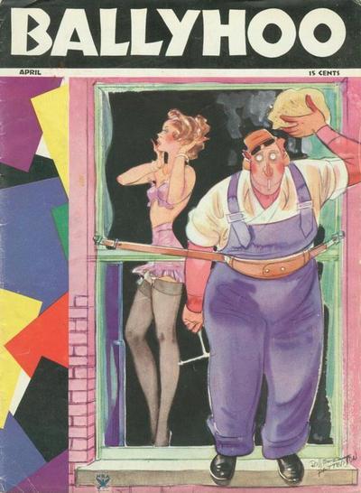 Cover for Ballyhoo (Dell, 1931 series) #v6#3