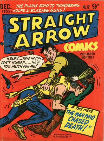 Cover for Straight Arrow Comics (Magazine Management, 1955 series) #12