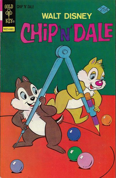 Cover for Walt Disney Chip 'n' Dale (Western, 1967 series) #37 [Gold Key]