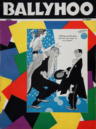 Cover for Ballyhoo (Dell, 1931 series) #v2#3