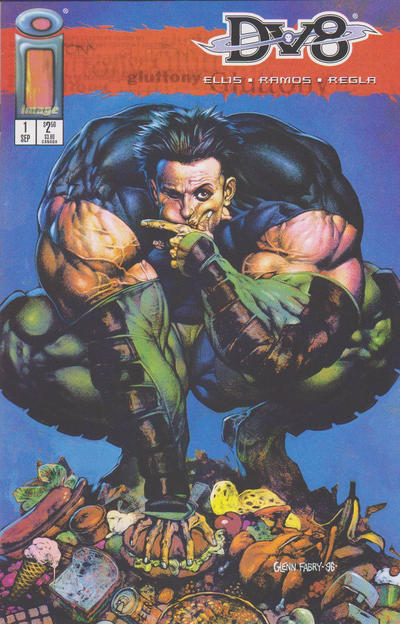 Cover for DV8 (Image, 1996 series) #1 [Lust]