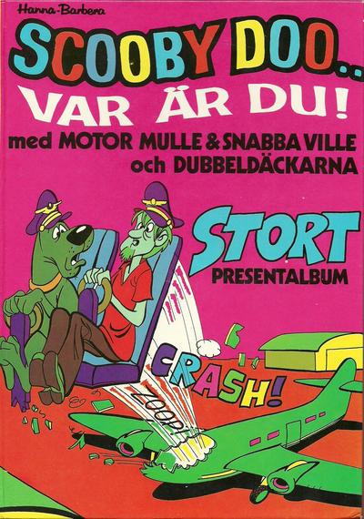 Cover for Scooby Doo... var är du! (Williams Förlags AB, 1973 series)