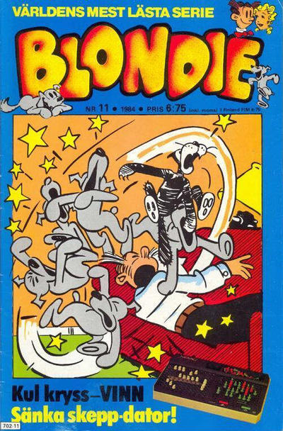 Cover for Blondie (Semic, 1963 series) #11/1984