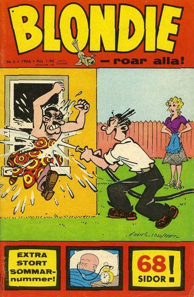 Cover for Blondie (Semic, 1963 series) #5/1966