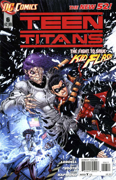 Cover for Teen Titans (DC, 2011 series) #6