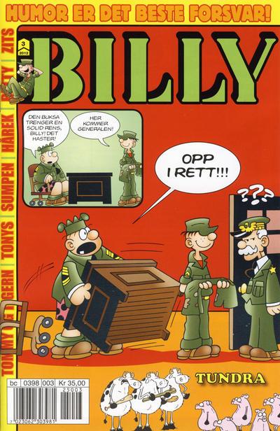 Cover for Billy (Hjemmet / Egmont, 1998 series) #3/2012