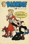 Cover for Blondie (Åhlén & Åkerlunds, 1956 series) #12/1960