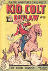 Cover for Kid Colt Outlaw (Horwitz, 1952 ? series) #18