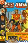 Cover for La Légion des Super Héros et les Nouveaux Jeunes Titans (Editions Héritage, 1984 series) #12