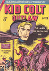 Cover for Kid Colt Outlaw (Horwitz, 1952 ? series) #19