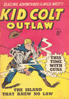 Cover for Kid Colt Outlaw (Horwitz, 1952 ? series) #22