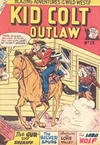 Cover for Kid Colt Outlaw (Horwitz, 1952 ? series) #13