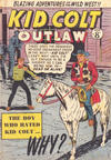 Cover for Kid Colt Outlaw (Horwitz, 1952 ? series) #24