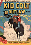 Cover for Kid Colt Outlaw (Horwitz, 1952 ? series) #16