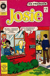 Cover for Josie (Editions Héritage, 1974 series) #19