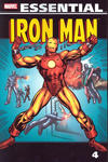 Cover for Essential Iron Man (Marvel, 2000 series) #4