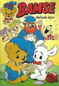 Cover Thumbnail for Bamse (Egmont, 1997 series) #14/2011