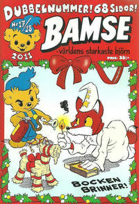 Cover Thumbnail for Bamse (Egmont, 1997 series) #17-18/2011