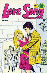 Cover Thumbnail for Love Song Romances (K. G. Murray, 1959 ? series) #84