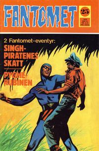 Cover Thumbnail for Fantomet (Romanforlaget, 1966 series) #25/1972