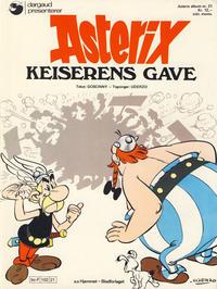 Cover Thumbnail for Asterix (Hjemmet / Egmont, 1969 series) #21 - Keiserens gave [1. opplag]