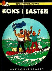 Cover Thumbnail for Tintins äventyr (Illustrationsförlaget, 1968 series) #13 - Koks i lasten