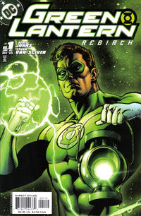 Cover Thumbnail for Green Lantern: Rebirth (DC, 2004 series) #1 [Second Printing]