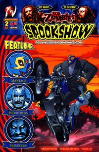 Cover Thumbnail for Rob Zombie's Spookshow International (CrossGen, 2003 series) #2 [Second Printing Cover]