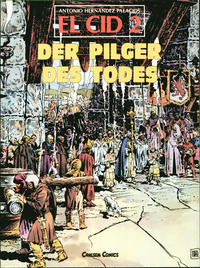 Cover Thumbnail for El Cid (Carlsen Comics [DE], 1982 series) #2 - Der Pilger des Todes