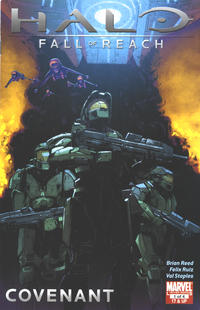 Cover Thumbnail for Halo: Fall of Reach - Covenant (Marvel, 2011 series) #1