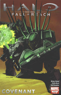Cover Thumbnail for Halo: Fall of Reach - Covenant (Marvel, 2011 series) #3