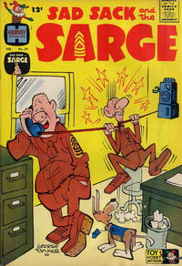 Cover Thumbnail for Sad Sack and the Sarge (Harvey, 1957 series) #29