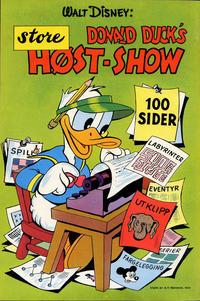 Cover Thumbnail for Donald Ducks Show (Hjemmet / Egmont, 1957 series) #[3] - Høst-show [1958]