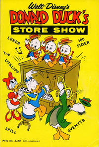 Cover Thumbnail for Donald Ducks Show (Hjemmet / Egmont, 1957 series) #[7] - Store show [1962]