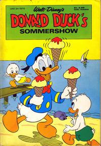 Cover Thumbnail for Donald Ducks Show (Hjemmet / Egmont, 1957 series) #[16] - Sommershow 1970