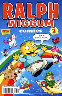 Cover Thumbnail for Simpsons One-Shot Wonders: Ralph Wiggum Comics (Bongo, 2012 series) #1