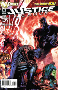 Cover Thumbnail for Justice League (DC, 2011 series) #6