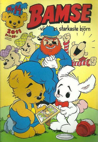 Cover for Bamse (Egmont, 1997 series) #14/2011