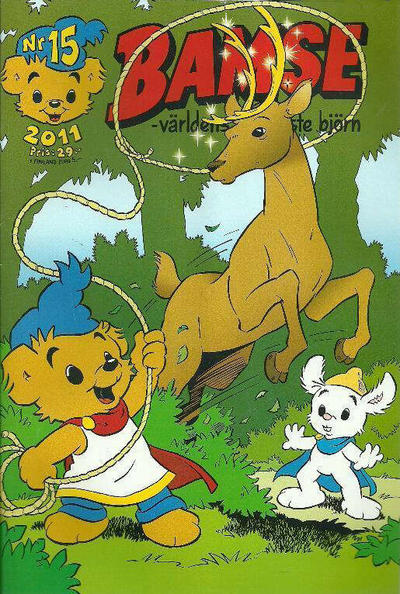 Cover for Bamse (Egmont, 1997 series) #15/2011