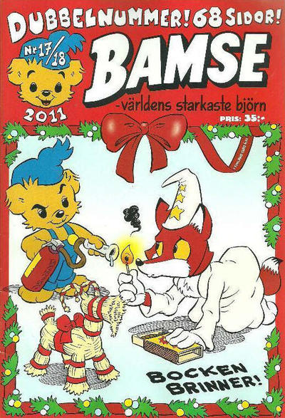 Cover for Bamse (Egmont, 1997 series) #17-18/2011