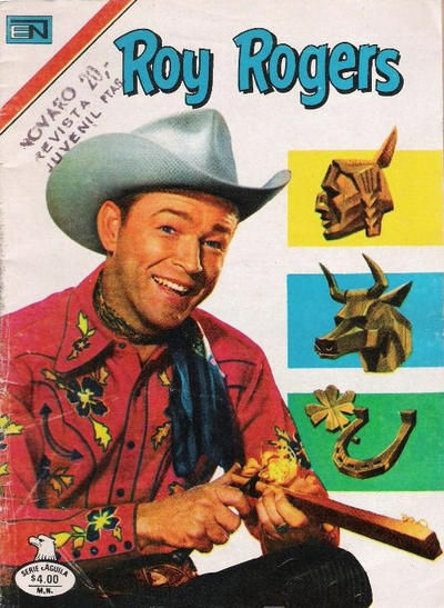 Cover for Roy Rogers (Editorial Novaro, 1952 series) #433